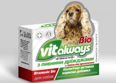 VITALWAYS-BIO with brewers yeast (for dogs)