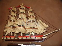 Сборная деревянная модель корабля ВИКТОРИ / HMS