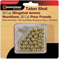 Balls for a slingshot of Marksman.30 cal Steel