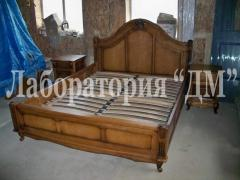 Bedroom from a natural derevya of