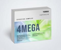 4mega (4мега) - капсулы для повышения...