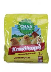 Compaund feeds for broilers start