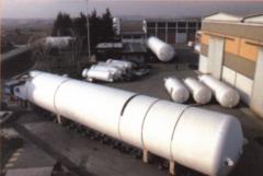 Емкость криогенная для природного сжиженного газа