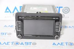 Магнитофон радио дисплей VW Passat b7 USA 6 кнопок