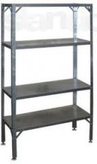 Wall shelves from stainless steel