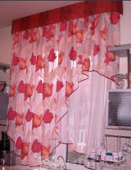 Занавески для кухни
