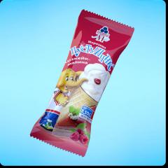 Мороженое Пустунчик. Чизкейк-малина