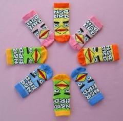 Носки детские с разнообразным рисунком