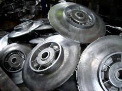 Chill casting from steel Kharkiv (Ukraine)