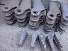 Castings from a high-test cast iron Kharkiv...