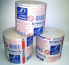 Ilet paper in rolls