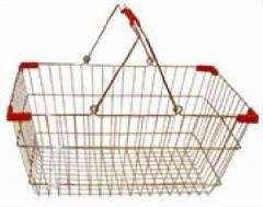 Basket for supermarkets