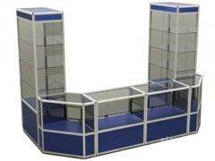 Show-window trade of the aluminum shape