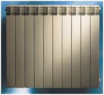 Aluminum radiators of Nova Florida Extratherm