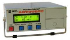 Automobile gas analyzer of ABTOTECT-01.02M