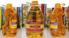 Sunflower oil 0,8 liters, 1 liter, 3 liters, 5
