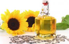 Sunflower oil not refined packed-up TM