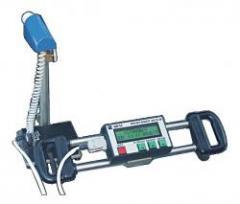 Measuring instrument of total backlash of rudder