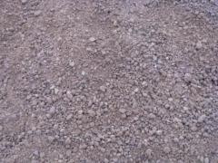 Mixes crushed-stone gravel and sand