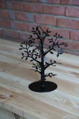 Дерево для украшений, бижутерии, цепочек, серьг,