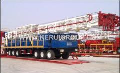 Mobile drilling rigs of the Chinese KEZhUY company