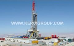 Prospecting drilling rigs of the Chinese KEZhUY