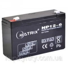 Батарея к ИБП Matrix 6V 12AH (NP12-6)