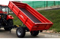 The trailer agricultural METAL-FACH T736/2 - 1,5T