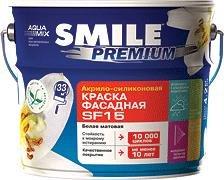 Краска SMILE Premium SF-15 акрило-силиконовая,