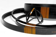 Belts driving for agricultural machinery (CASE