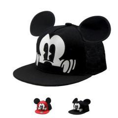 Детская кепка снепбек с ушками Микки Маус с...