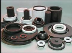 Rubber products of molding formation
