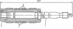 Поршень ∅140 со штоком на компрессор 4М10-40/70