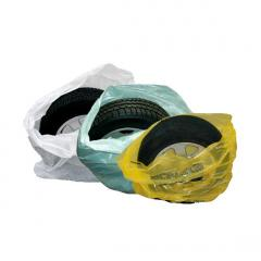 Plastic bags for tires, Odessa