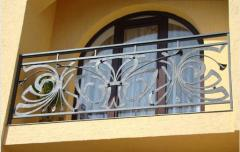 Балконы кованые,  Кованые декоративные изделия