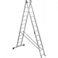 Лестница 2-х секционная Stark SVHR2x12 (525212407)