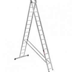 Лестница 2-х секционная Stark SVHR2x15 Pro (525215410)