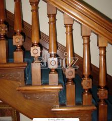 Лестницы деревянные заказать Украина Донецк,