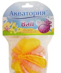 """Банна губка ТМ """"Акваторія"""" Ball, 1 шт"""