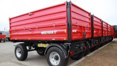 Прицеп двухосный Metal-Fach T 711/1 - 8 тонн