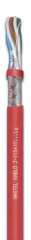 Cable for the fire alarm system fire-resistant