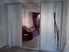 Художественный рисунок на зеркалах и стёклах