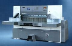Paper cutting machine HUAYUE SQZK series - Cutting