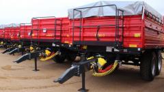 Прицеп Metal-Fach T730/2, 10 тонн. Прицепы сельскохохяйственные