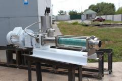 Chemical screw shnekovy eccentric pumps