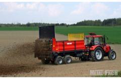 Разбрасыватель органических удобрений Metal-Fach N 267/1 грузовой ёмкостью 6 тонн