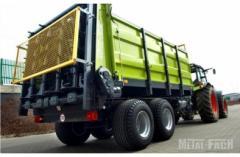 Разбрасыватель органических удобрений Metal-Fach N267 грузовой ёмкостью 8 т