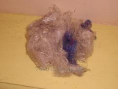 Cotton wool viscose color