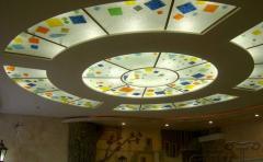 Glass decorative, glass in a ceiling Vinnytsia