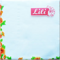 White 20 pieces, Napkins wedding, Tissues